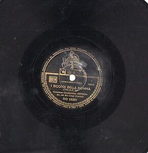 LUIGI-GRANOZIO-Complesso-ESPERIA-disco-78-giri-CONCHITA-stampa-ITALIANA-ITALY