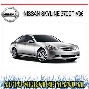 NISSAN-SKYLINE-370GT-V36-2006-2011-SERVICE-REPAIR-MANUAL-DVD