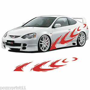 Car Ute Truck Bike Vehicle Side Decals Stickers Vinyl Graphics - Graphics for a car