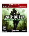 Call of Duty 4: Modern Warfare -- Greatest Hits (Sony PlayStation 3, 2010)