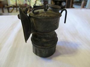 NICE-ANTIQUE-SHANKLIN-MFG-CO-GUYS-DROPPER-MINING-MINER-LAMP-1916-SPRINGFIELD-IL