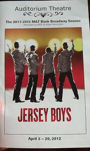 2012-Jersey-Boys-Auditorium-Theatre-Playbill-Program