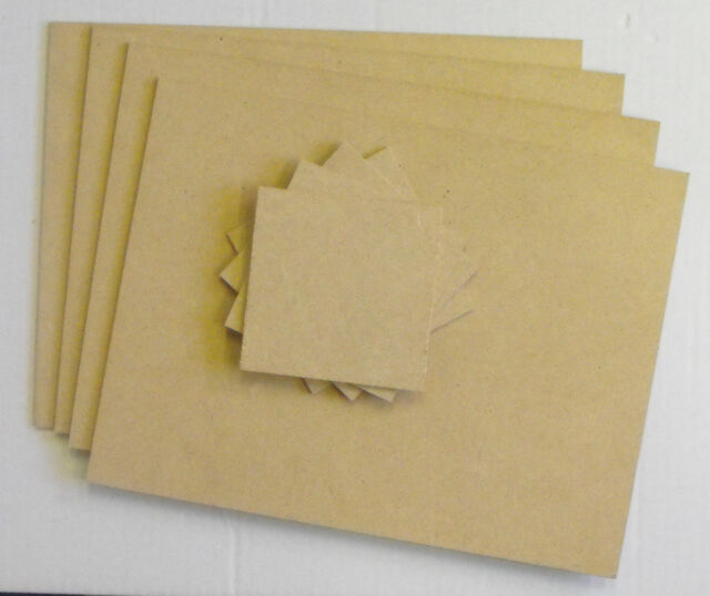MDF placemats and coasters - set of 4 of each for mosaic, art or craft