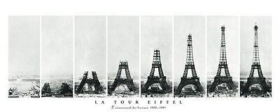 "60"" PARIS PHOTO ART PRINT - La Tour EIFFEL TOWER 60x24 French France Poster"