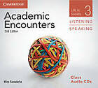 Academic Encounters Level 3 Class Audio CDs (3) Listening and Speaking: Life in Society by Kim Sanabria (CD-Audio, 2012)