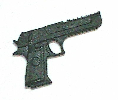 """Desert Eagle Automatic Pistol (2)- 1:18 Scale Weapons for 3-3/4"""" Action Figures"""
