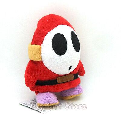 """New Super Mario Bros Plush Doll Stuffed Toy Shy Guy 10"""""""