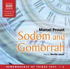 Sodom and Gomorrah by Marcel Proust (CD-Audio, 2012)
