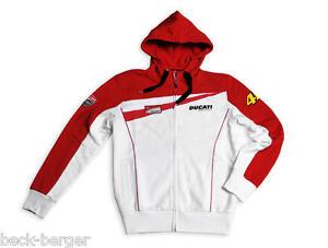 Ducati Corse Sweatshirt Jacket Pullover Valentino Rossi D46 Team Moto Gp New Ebay