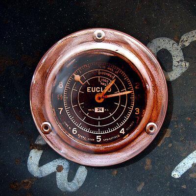 """GAUGE 12 - Round Fridge Magnet Steampunk Dieselpunk 2.25"""""""
