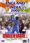 England v India - Nat West Final 2002 (DVD, 2002)