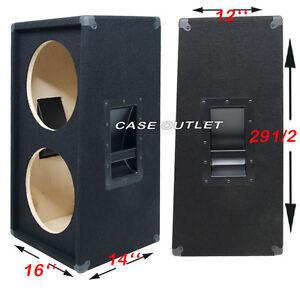 2X12 вертикальный наклонной гитарный динамик пустой шкаф черный ...