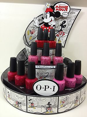 HARD TO FIND- OPI Nail Lacquer MINNIE MOUSE 2012 M13-M16 .5oz- Pick Any Shade