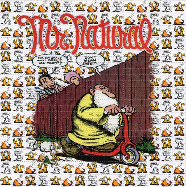 MR.NATURAL  - perforated sheet BLOTTER ART psychedelic acid free paper