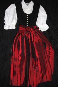 German-Children-039-s-Trachten-Dirndl-Dress-Oktoberfest-size-104-116-size-4-or-6X