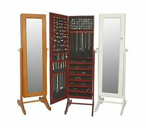 Gold-Silver-Safekeeper-Mirrored-Jewelry-Cabinet-by-Lori-Greiner-box-standing