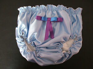 SATIN-KNICKERS-LINED-PLASTIC-PANTS-ADULT-BABY-MAID-SISSY-UNISEX-FANCY-DRESS