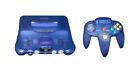 Nintendo 64 Blau Spielekonsole (NTSC-J (Japan))