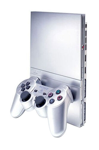 Sony playstation 2 slim limited edition ceramic white console ebay - Playstation 2 console price ...