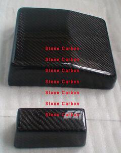 carbon fiber fuse cover unit box fit for lancer evo x 10 ebay