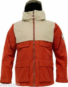 Men-039-s-Burton-Arctic-Jacket-L-Red-Coat-Snowboard-Snow-Ski-Parka-Rain-NWT-New