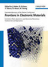 Frontiers of Electronic Materials: A Collection of Extended Abstracts by Wiley-VCH Verlag GmbH (Paperback, 2012)