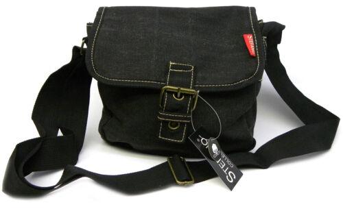 CANVAS Überschlagtasche von STEFANO®  Neu Freizeittasche Tasche Geschenkidee