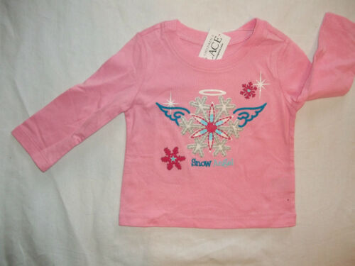 NEW CHILDRENS PLACE GIRL SIZE 6-9 9-12 MONTHS T-SHIRT//TOPS 6 WINTER THEME STYLES