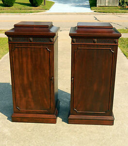 Pair-Regency-Style-Mahogany-Dining-Room-Pedestals-with-Storage-Area-crica-1910