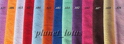 10 x Microfibre Cleaning Cloth Towels 28cm x 28cm Single Colour