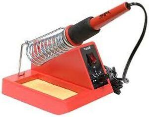 Weller-WLC100-40-Watt-Soldering-Station-Pencil-Iron-Cushioned-Grip-Sponge-New