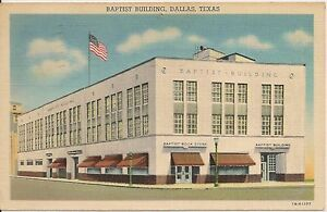 Baptist-Building-Dallas-Texas-TX-Postcard