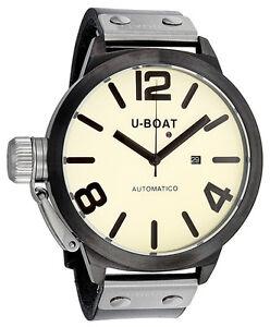 U-Boat-Nero-Automatic-Leather-Mens-Watch-339-340