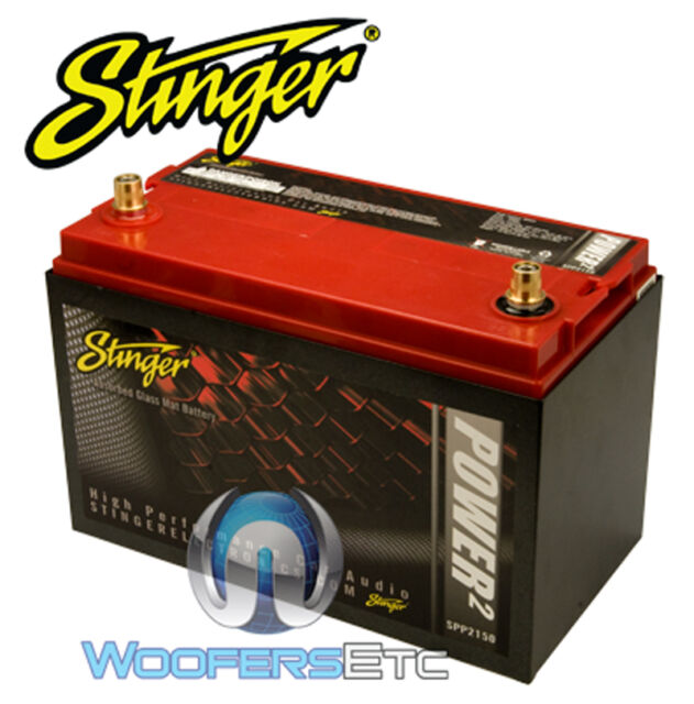 STINGER SPP2150 2150 AMP 5000 WATTS POWER DRY CELL CAR TRUCK VAN BATTERY NEW