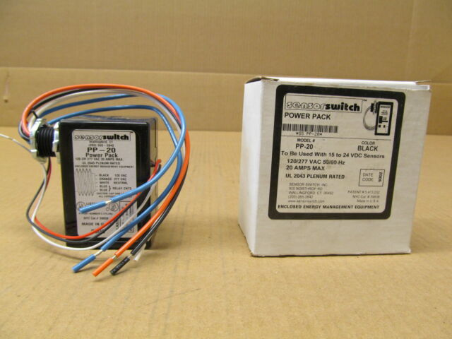 Sensor Switch PP20 Power PK 20a Relay Circuit Protector 120-277v 15vdc for sale online