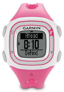 Garmin Forerunner 10 >> Garmin Forerunner 10 Gps Running Watch W Run Walk Feature Pink White New