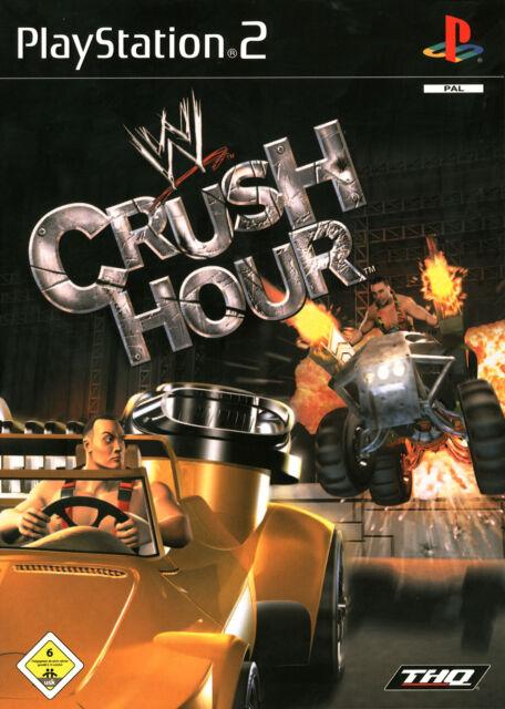Crush Hour mit Anleitung (PS2) - DVD wie Neu