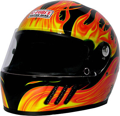 G-FORCE Racing Gear Snell SA2005 Rated Pro Eliminator X Helmet Full Face Helmet