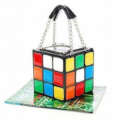 Cute Magic Cube Bag Handbag Purse