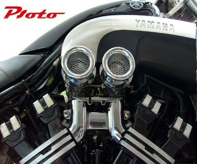 YAMAHA V-MAX V-MAX1200 VMAX VMAX1200 V-MAX12 VMAX12 - intake flare fitting -
