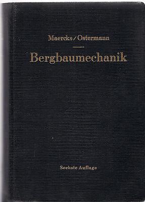 6.aufl. 1960 Gutes Renommee Auf Der Ganzen Welt Lehr- Und Handbuch Marcks/walter Ostermann: Bergbaumechanik