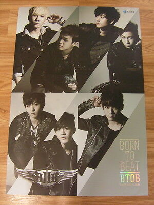 BTOB - BORN TO BEAT [ORIGINAL POSTER] *NEW* K-POP