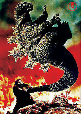King Kong Vs Godzilla (1962) horror cult movie poster print 10