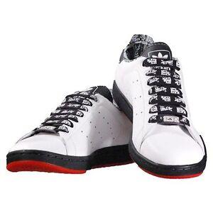 vendedor cúbico Guau  New Collectors Edition Adidas Stan Smith Science 123Klan Edition White  Black Red | eBay