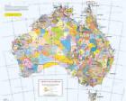 A0 Flat Aiatsis Map Indigenous Australia by David Horton (Sheet map, 1996)