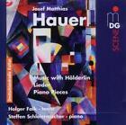 Musik Mit Hölderlin-Liedern/Klavierstücke op.25 von Steffen Schleiermacher,Holger Falk (2011)