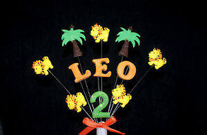 Personalised-NAME-AGE-LION-JUNGLE-BIRTHDAY-CAKE-TOPPER