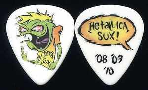 METALLICA-039-08-039-09-039-10-Magnetic-Tour-Guitar-Pick-custom-concert-stage-Pick-2