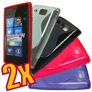 2x-Soft-TPU-Gel-Case-for-Samsung-Omnia-W-i8350-2x-Screen-Film