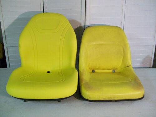 YELLOW SEAT JD JOHN DEERE 425,445,455,4100,4110,4115,GARDEN,COMPACT TRACTORS #DD